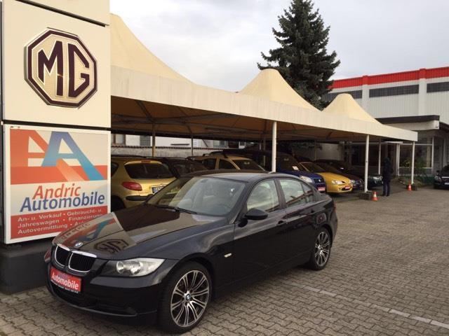 verkauft bmw 320 3er dpf gebraucht 2007 km in. Black Bedroom Furniture Sets. Home Design Ideas