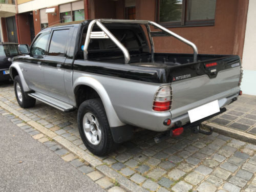 verkauft mitsubishi l200 pick up 4x4 m gebraucht 2002 km in weststadt. Black Bedroom Furniture Sets. Home Design Ideas
