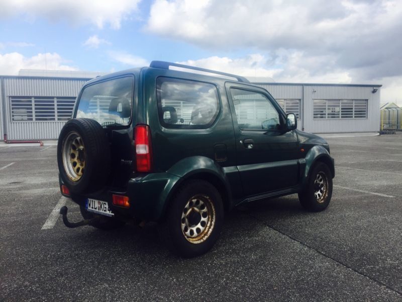 verkauft suzuki jimny gebraucht 1999 km in kiel autouncle. Black Bedroom Furniture Sets. Home Design Ideas
