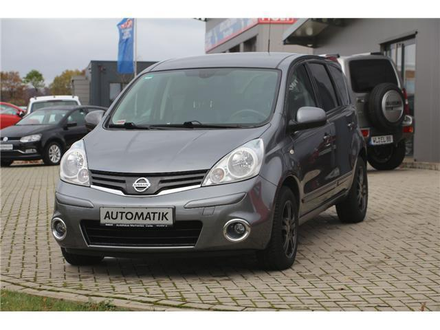 gebraucht 1 6 i way automatik nissan note 2012 km. Black Bedroom Furniture Sets. Home Design Ideas
