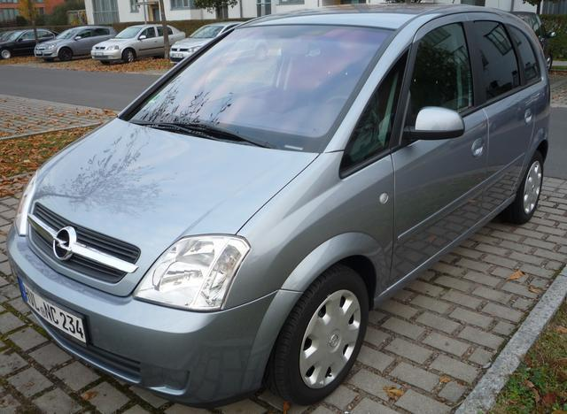 verkauft opel meriva cosmo automatik gebraucht 2005 km in teisendorf. Black Bedroom Furniture Sets. Home Design Ideas