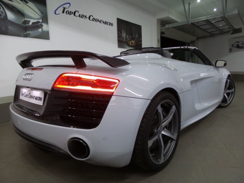 verkauft audi r8 spyder 5 2 fsi sport gebraucht 2015 km in wuppertal cronenberg. Black Bedroom Furniture Sets. Home Design Ideas