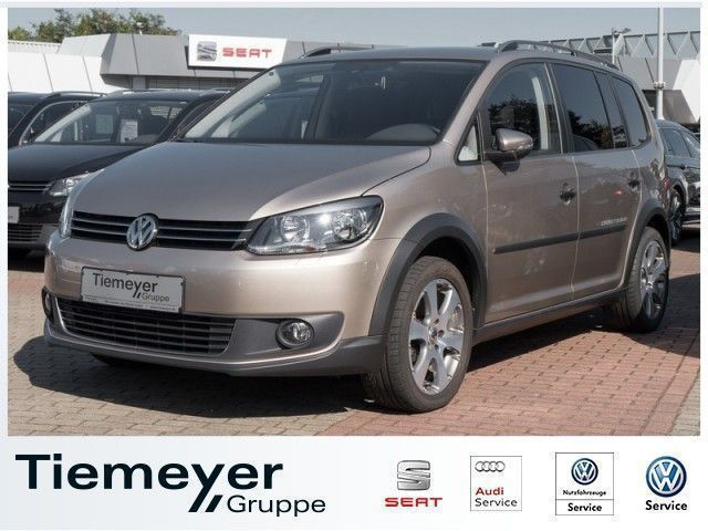 verkauft vw touran cross 1 6 tdi dpf d gebraucht 2012 km in hessen. Black Bedroom Furniture Sets. Home Design Ideas