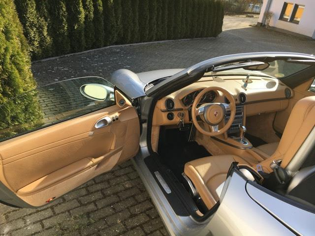 verkauft porsche boxster tiptronic s gebraucht 2007 km in burscheid. Black Bedroom Furniture Sets. Home Design Ideas