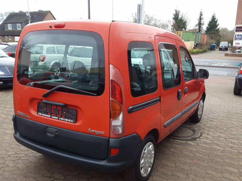 verkauft renault kangoo 1 2 decathlon gebraucht 1999 116. Black Bedroom Furniture Sets. Home Design Ideas