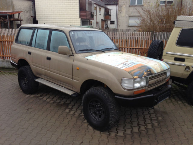 verkauft toyota land cruiser hdj 80 gebraucht 1991 km in markt bibart. Black Bedroom Furniture Sets. Home Design Ideas