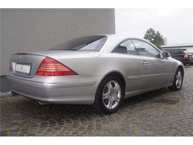 verkauft mercedes cl500 zas gebraucht 2003 km in nufringen. Black Bedroom Furniture Sets. Home Design Ideas