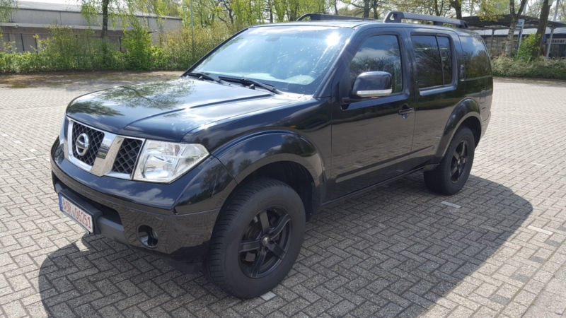 verkauft nissan pathfinder 2 5 dci se gebraucht 2008 255. Black Bedroom Furniture Sets. Home Design Ideas