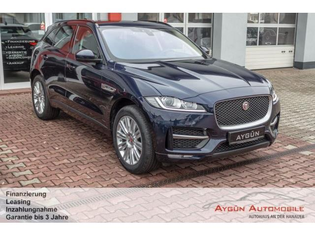 verkauft jaguar f pace 20d awd aut r gebraucht 2016. Black Bedroom Furniture Sets. Home Design Ideas