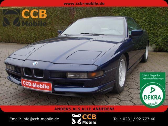 gebraucht 1991 bmw 850 5 0 benzin 44319. Black Bedroom Furniture Sets. Home Design Ideas