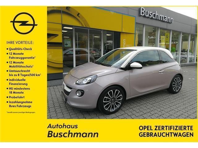 verkauft opel adam germany's next topm., gebraucht 2014, 40.500 km