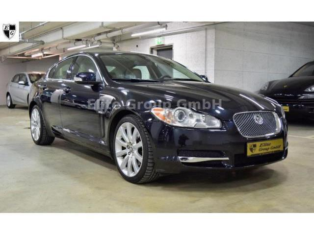 verkauft jaguar xf 2 7 v6 diesel premi gebraucht 2008. Black Bedroom Furniture Sets. Home Design Ideas