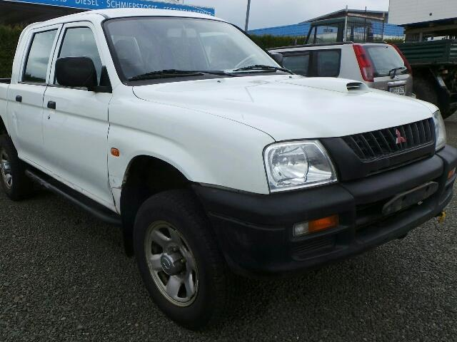 verkauft mitsubishi l200 pick up 4x4 gebraucht 2001 km in st wendel. Black Bedroom Furniture Sets. Home Design Ideas