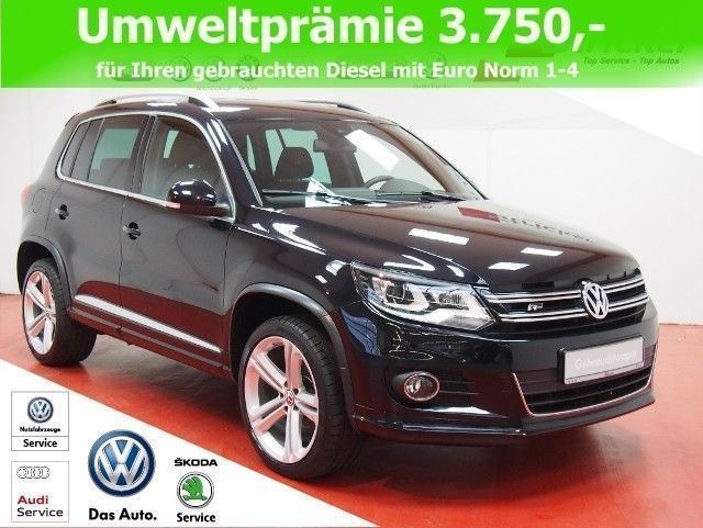 verkauft vw tiguan r line 2 0tdi dsg gebraucht 2016. Black Bedroom Furniture Sets. Home Design Ideas