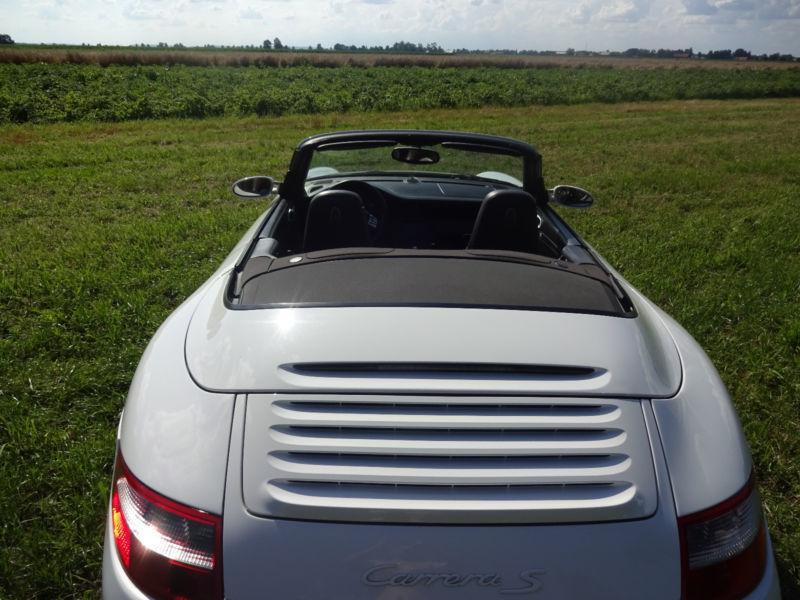 verkauft porsche 997 s cabrio tiptronic gebraucht 2007. Black Bedroom Furniture Sets. Home Design Ideas