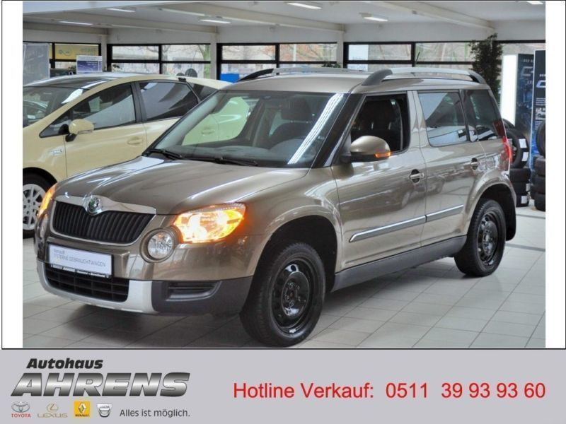 gebraucht 1 4 tsi ambition skoda yeti 2013 km in hannover. Black Bedroom Furniture Sets. Home Design Ideas