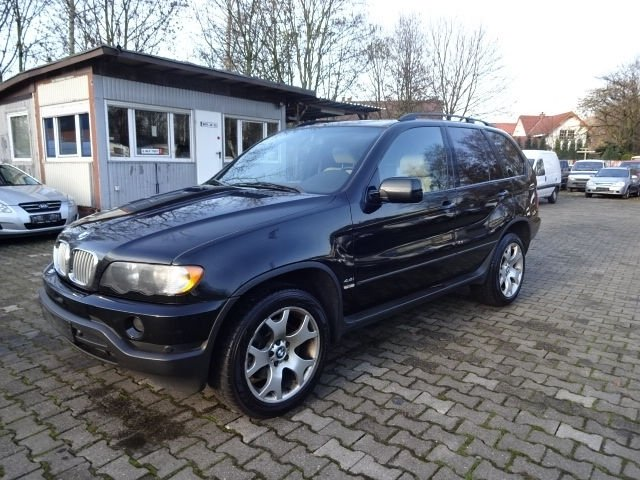 verkauft bmw x5 4 4 i lkw zulassung gebraucht 2001 km in bottrop. Black Bedroom Furniture Sets. Home Design Ideas