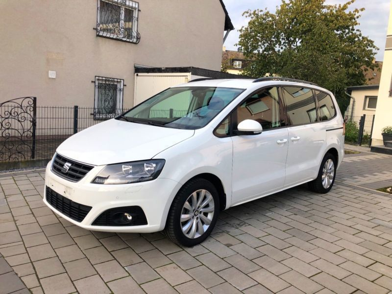 verkauft seat alhambra 2 0 tdi eur 6 gebraucht 2016. Black Bedroom Furniture Sets. Home Design Ideas