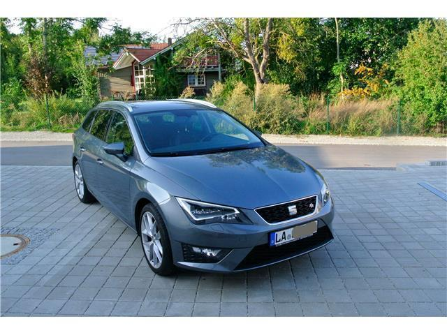 verkauft seat leon st 2 0 tdi start gebraucht 2015 39. Black Bedroom Furniture Sets. Home Design Ideas