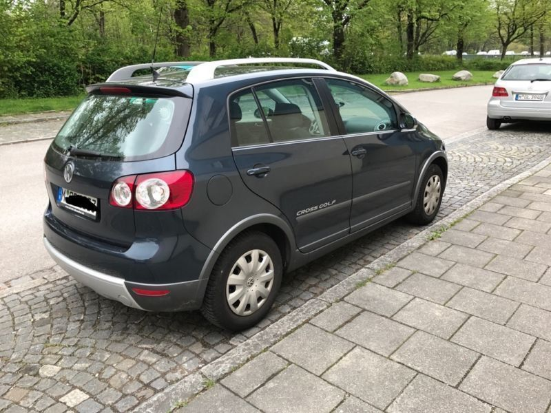 verkauft vw golf plus cross 1 9 tdi gebraucht 2007 km in hadern. Black Bedroom Furniture Sets. Home Design Ideas
