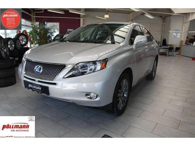 verkauft lexus rx450h rx 450h hybrid gebraucht 2010 km in winterberg. Black Bedroom Furniture Sets. Home Design Ideas