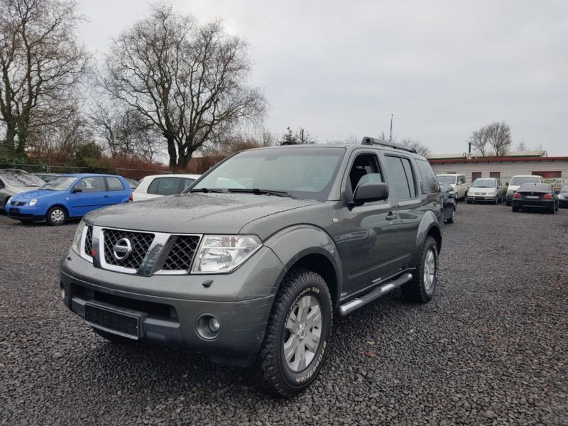 verkauft nissan pathfinder 2 5 dci ele gebraucht 2006 km in buxtehude. Black Bedroom Furniture Sets. Home Design Ideas