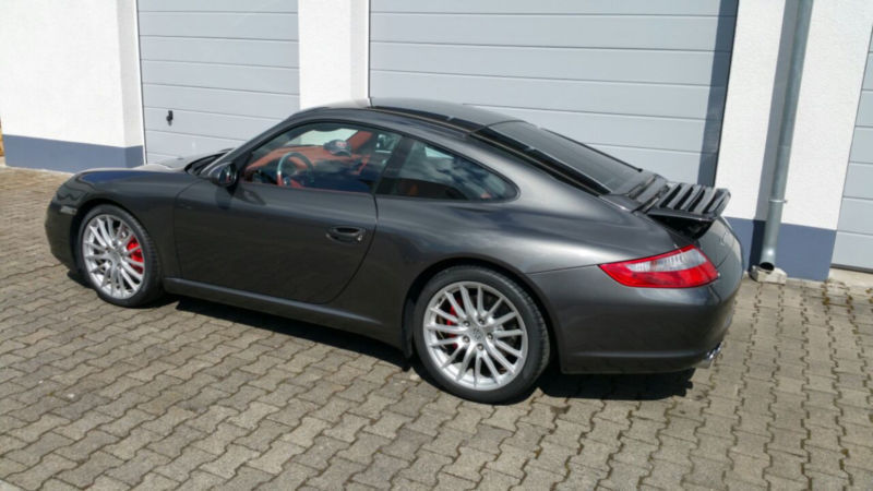 verkauft porsche 997 gebraucht 2007 km in langen autouncle. Black Bedroom Furniture Sets. Home Design Ideas