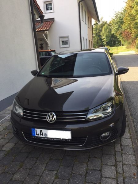 verkauft vw eos 2 0 tdi dsg exclusive gebraucht 2014 km in wolfsburg. Black Bedroom Furniture Sets. Home Design Ideas