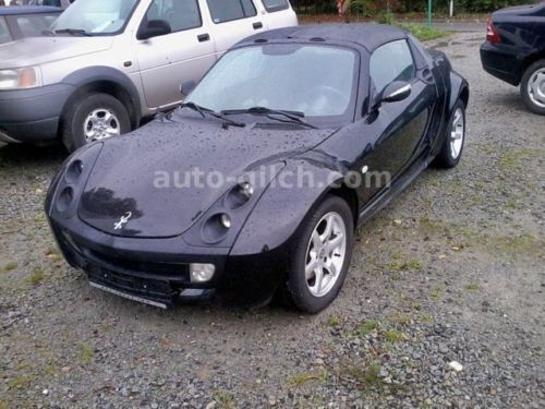 verkauft smart roadster in schwarz s gebraucht 2004. Black Bedroom Furniture Sets. Home Design Ideas