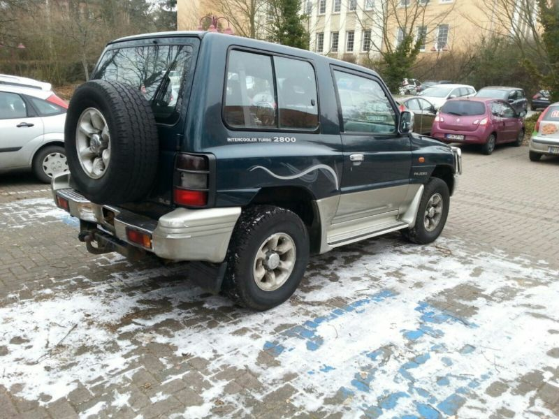 verkauft mitsubishi pajero 2800 td gls gebraucht 1999 km in eisnberg. Black Bedroom Furniture Sets. Home Design Ideas