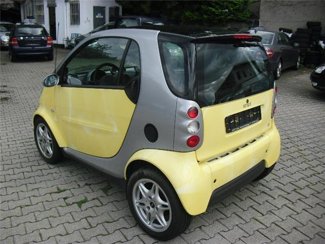 gebraucht smart fortwo coup 2001 km in m hlhausen. Black Bedroom Furniture Sets. Home Design Ideas