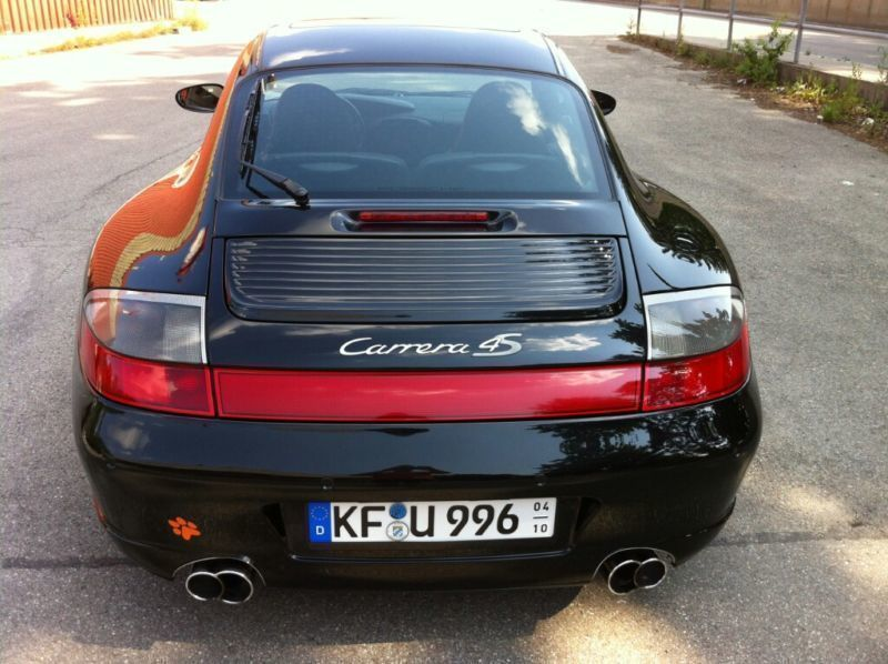 verkauft porsche 911 carrera 996s4 kla gebraucht 2004. Black Bedroom Furniture Sets. Home Design Ideas