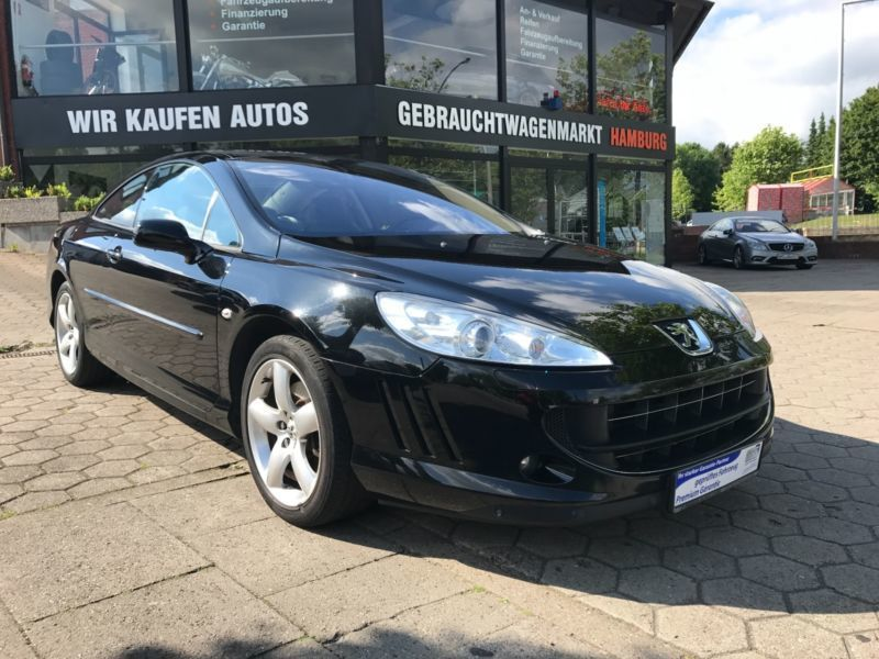 verkauft peugeot 407 coupe platinum 2 gebraucht 2008 km in hamburg. Black Bedroom Furniture Sets. Home Design Ideas