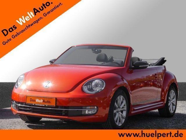 gebraucht VW Beetle Cabrio 1.4 CLUB DSG Navi Kamera SHZ GRA