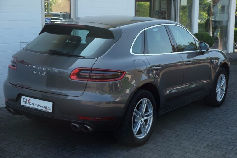 verkauft porsche macan s diesel 1 hand gebraucht 2014. Black Bedroom Furniture Sets. Home Design Ideas
