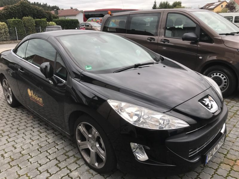 verkauft peugeot 308 cc 120 vti premium gebraucht 2009 km in hutthurm. Black Bedroom Furniture Sets. Home Design Ideas