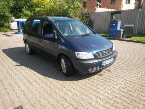 verkauft opel zafira 1 6 selection free gebraucht 2001 km in gr nberg. Black Bedroom Furniture Sets. Home Design Ideas