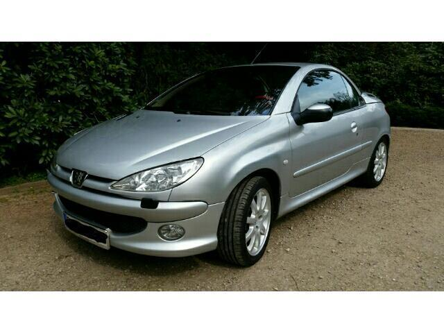 verkauft peugeot 206 cc cabriolet filou gebraucht 2003 km in detmold. Black Bedroom Furniture Sets. Home Design Ideas