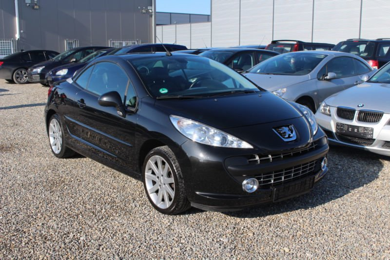 verkauft peugeot 207 cc 120 vti roland gebraucht 2009 km in bad wurzach. Black Bedroom Furniture Sets. Home Design Ideas