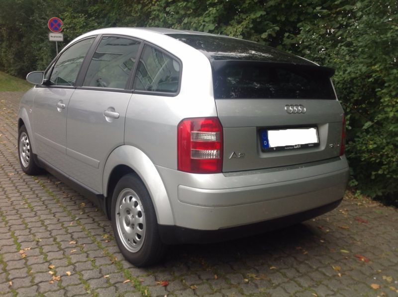 verkauft audi a2 1 2 tdi 3l d4 eu4 gebraucht 2002 km in offenbach. Black Bedroom Furniture Sets. Home Design Ideas
