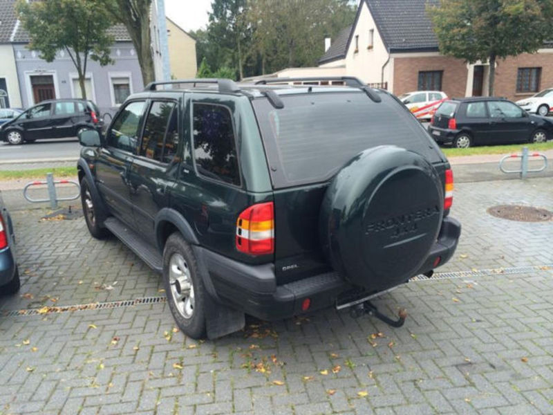 verkauft opel frontera b limited ahk k gebraucht 1999 km in moers. Black Bedroom Furniture Sets. Home Design Ideas