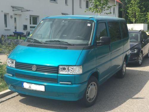 verkauft vw t4 vw bus mit eingetragene gebraucht 1992 km in landsberg lech. Black Bedroom Furniture Sets. Home Design Ideas