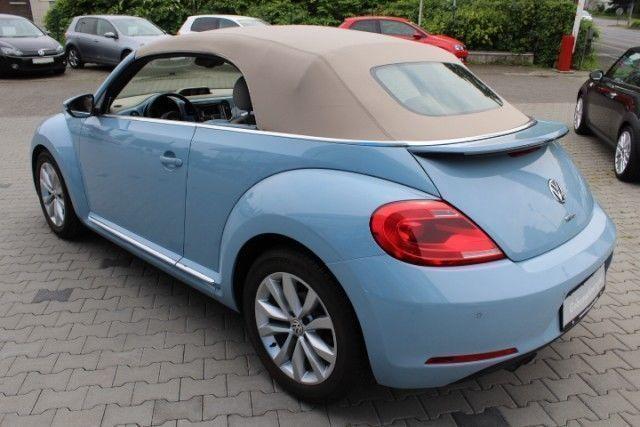 verkauft vw beetle cabriolet 1 4 tsi d gebraucht 2013. Black Bedroom Furniture Sets. Home Design Ideas