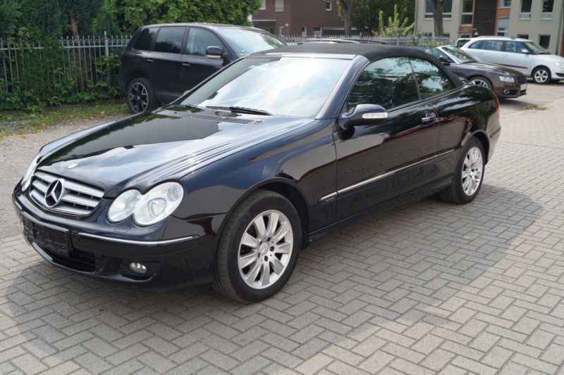 verkauft mercedes clk280 clk cabrio gebraucht 2006 240. Black Bedroom Furniture Sets. Home Design Ideas