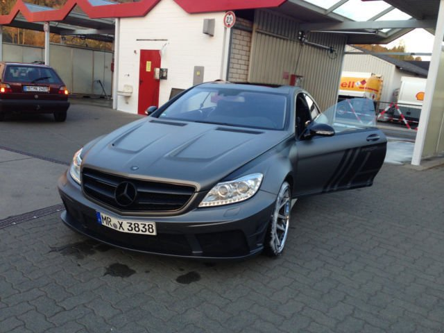 verkauft mercedes cl500 prior design u gebraucht 2010. Black Bedroom Furniture Sets. Home Design Ideas