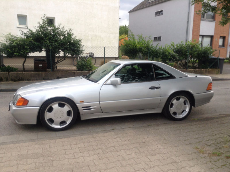 verkauft mercedes sl500 gebraucht 1991 km in k ln. Black Bedroom Furniture Sets. Home Design Ideas