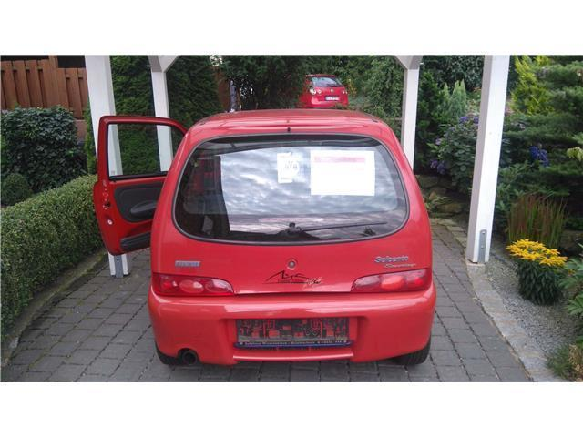 verkauft fiat seicento 1 1 gebraucht 2001 km in deggenhausertal. Black Bedroom Furniture Sets. Home Design Ideas
