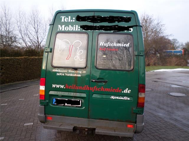 verkauft mercedes sprinter 312 d 903 4 gebraucht 1996 km in wilhelmshaven. Black Bedroom Furniture Sets. Home Design Ideas