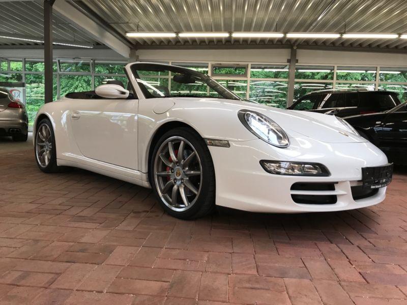 verkauft porsche 911 carrera 4s cabrio gebraucht 2008 km in w lfrath. Black Bedroom Furniture Sets. Home Design Ideas