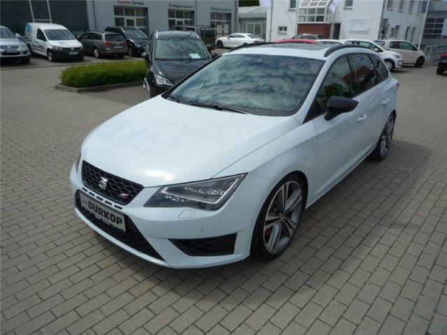verkauft seat leon st 265 cupra 2 0 gebraucht 2015. Black Bedroom Furniture Sets. Home Design Ideas